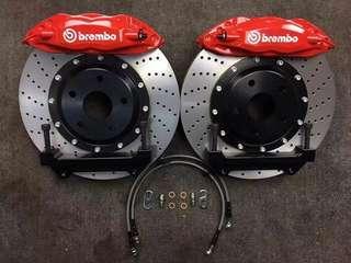 Brembo F50 Brake Kit for civic fd (ready stock)