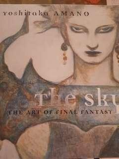 THE SKY YOSHITAKA AMANO THE ART OF FINAL FANTASY