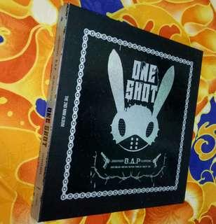 B.A.P The 2nd Mini Album ONE SHOT(With Youngjae Photocard)