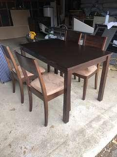 IKEA Dining Room table with chairs
