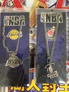 NBA 頸鏈 Lakers Heat