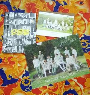The First Album XOXO Repackage KOR Ver (With Tao photocard ,EXO OFFICIAL Nature Republic 2014 Calendar, A4 Clearfile Nature Republic