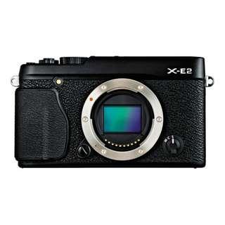 [CLEARANCE!] FUJIFILM X-E2 Mirrorless Digital Camera (Black, Body Only)