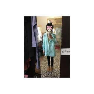 🚚 藍色西裝大衣#一百均價