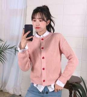 Icecream12 pink 粉紅外套 not majestic snidel chuu wego forever21 h&m