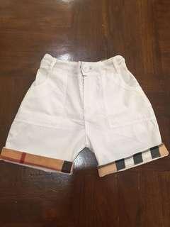 Burberry White Pants