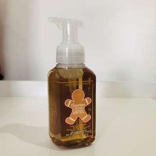 BBW Gentle Foaming Hand Soap Cinnamon Caramel Swirl