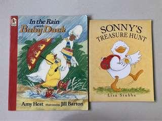 Ducky tales - In The Rain with baby duck, Sonny's Treasure Hunt