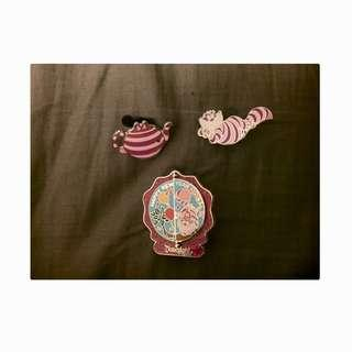 💖Disney Alice in the Wonderland Cheshire Cat Pins💖