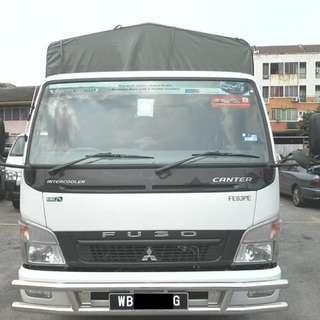 Lorry mitsubishi fuso 2014 for rental