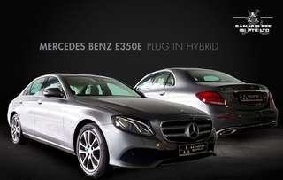Mercedes-Benz E-Class Saloon Hybrid E350e SE (A)