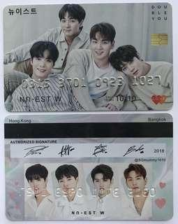 looking for | nu'est w pvc card