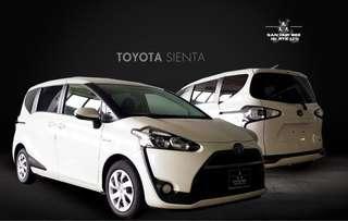 Toyota Sienta Hybrid 1.5 G (A)