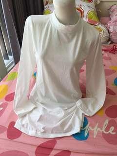 NEW!! mini dress putih