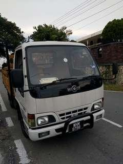 1 Tan lorry for rent