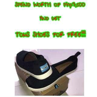 GET FREE TOMS SHOES 💯✔Authentic