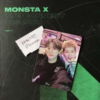 [WTT] MONSTA X - THE CONNECT: DEJAVU < OFFICIAL PHOTOCARD >