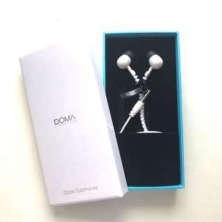 Doma Zipper Ear Phones