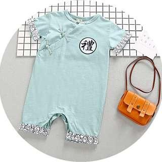 🚚 TZ039 Baby Boys CNY Traditional Coveralls Romper