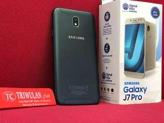 Samsung J7pro Black full set