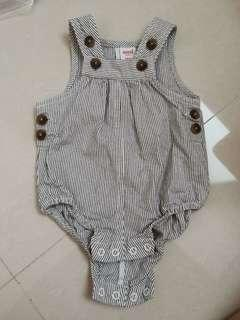 Price reduced Seed baby striped jumper/ romper