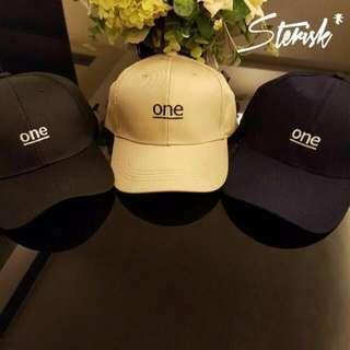 🚚 [INSTOCK] One Baseball Caps