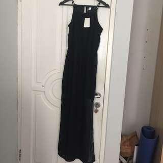H&m halter long dress