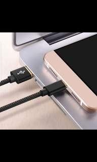 Fast charging cable apple and type c sumsung