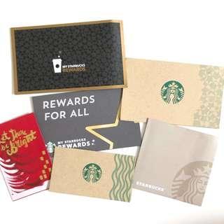 Starbucks Thailand card sleeve holder