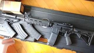 KWA MAGPUL M4 ERG 電動槍,電槍  (無彈斷電設計,有後座力)