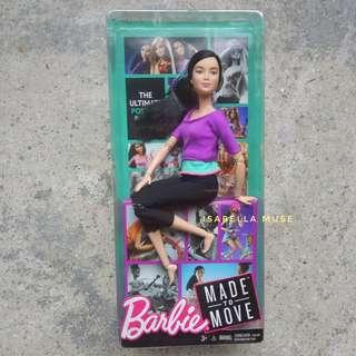 Barbie Made To Move, MTM Asian Face with Purple Top 2015