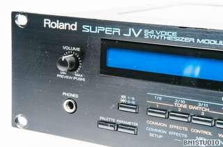 Wts rooand super JV1080 with 2 expansion cards