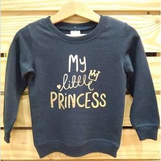 Lil little Girls  long sleeve sweatshirt fashion tops