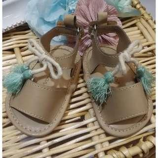 Lil little Baby Girl prewalker soft shoes