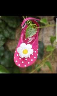 Girls flower shoes