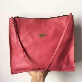 Hilly Pink Square Handbag