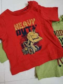Mothercare newborn short and long sleeved