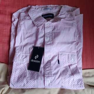 Denizen long sleeve shirt(Pink)