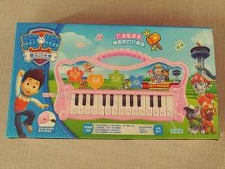 Piano with ABC and rhymes