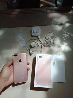 Iphone 7+ Rose gold / Iphone 7 plus