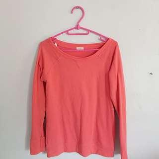 Forever 21 Coral Pink Sweater