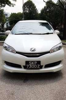 Toyota Wish 1.8 ( X / XE ) 2WD Auto