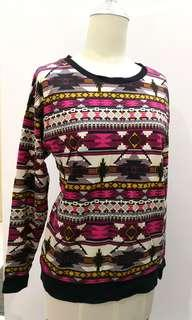 H&M tribal pullover