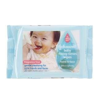 BNIB Johnson's Baby Wipes