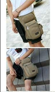 brand new leg bag pouch carrying sling never drop passport or phone again