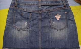 Guess Denim Mini Skirt