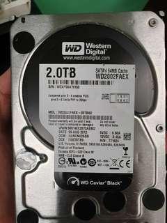 """2TB 3.5"""" Western Digital"""