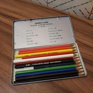🚚 贈送 自取 水性色鉛筆