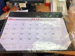 辦公室2019年檯曆/桌曆