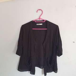 Penshoppe Black blouse